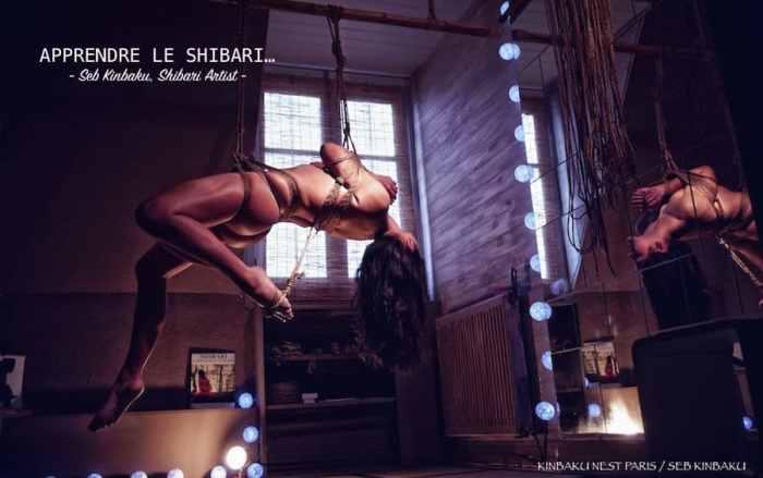 Cours privé Shibari Paris / Seb Kinbaku