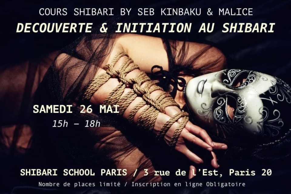 Cours Shibari Paris / Shibari School Paris Seb Kinbaku