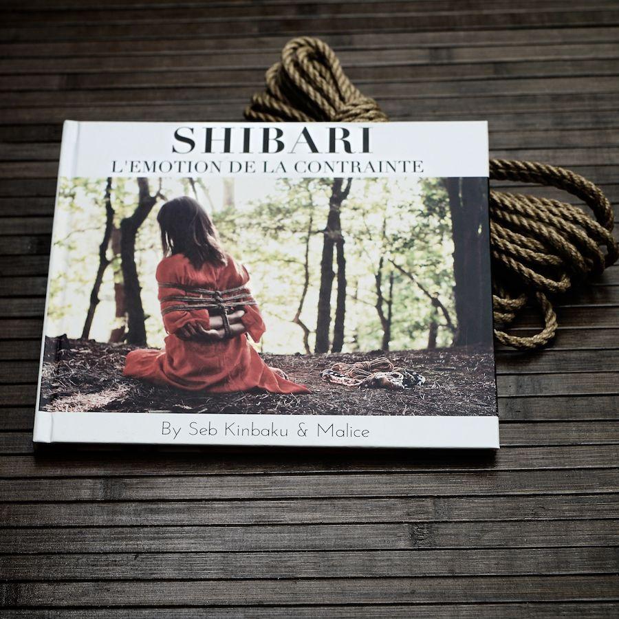 livre photo shibari : Shibari l'Emotion de la contrainte