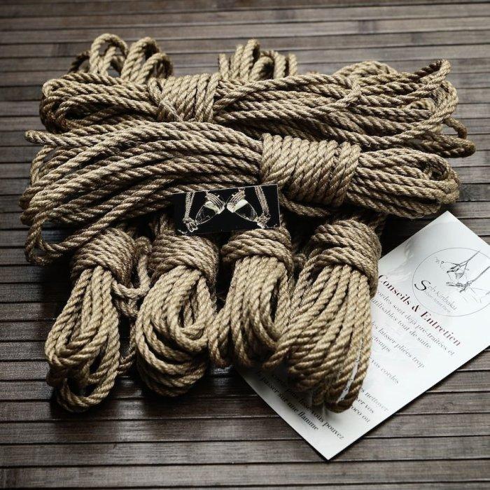 shibari corde paris / Seb Kinbaku