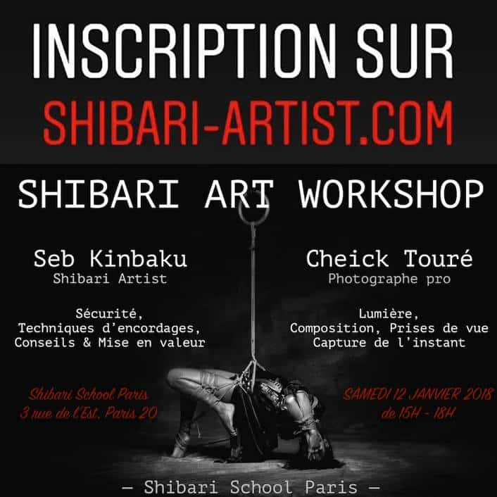 apprendre la photo de shibari
