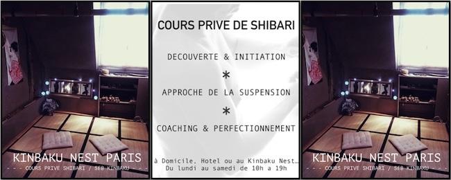 cours privé de shibari à Paris
