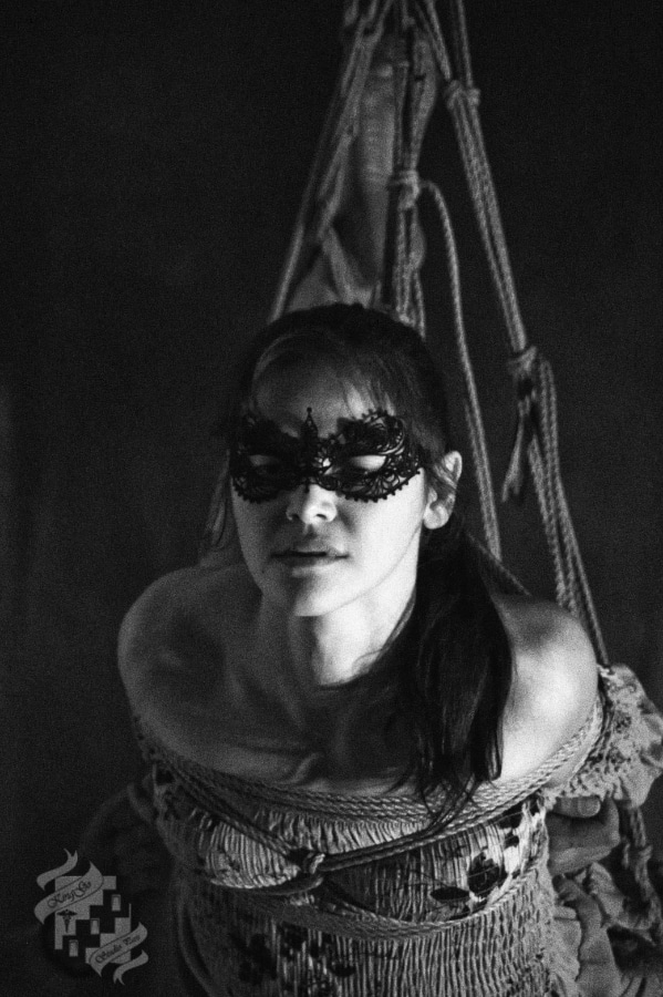Photo portrait Malice Kinbaku