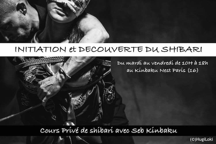 Initiation au shibari avec Seb Kinbaku