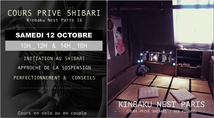 Cours prives de shibari avec Seb Kinbaku