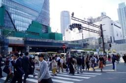 銀座線渋谷駅移設工事