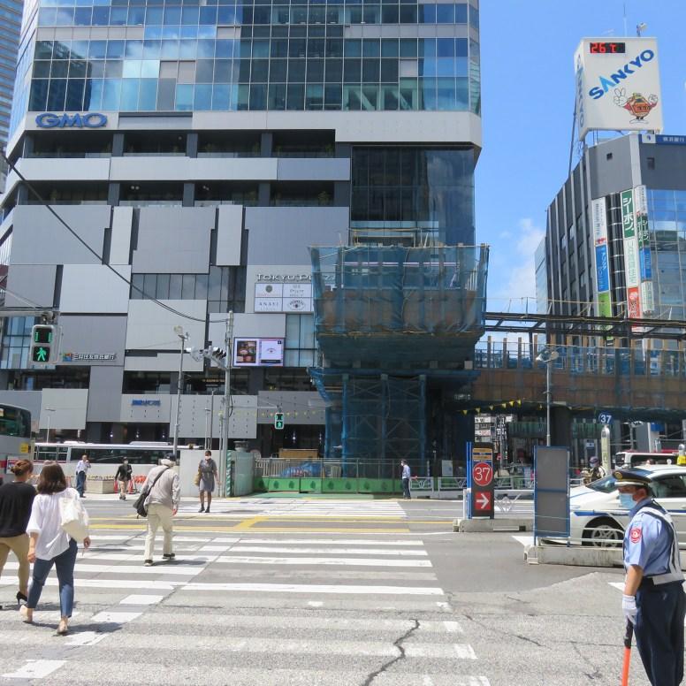 西口駅前再開発