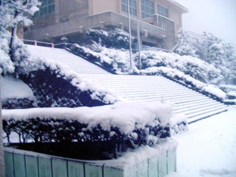 大雪の入学試験に思う|七高校長室だよりWEB紺青版