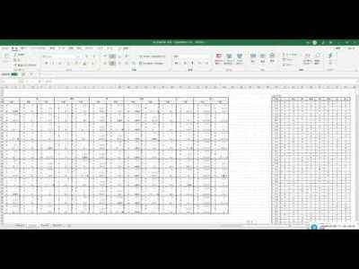 吉方位表自動算出プログラム(Excel版)