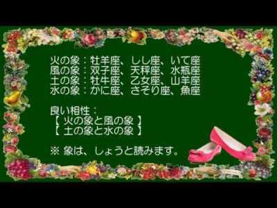 かんたんな星座相性占い☆ (✿╹◡╹)