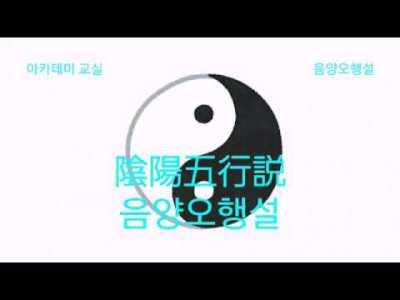 1. 陰陽五行説