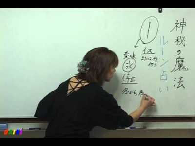 貴子サーシャの神秘の魔法「ルーン占術」講座 第12回