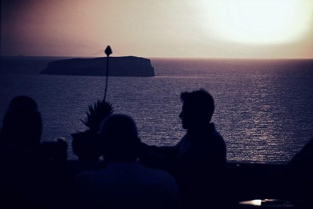 dinner by the ocean