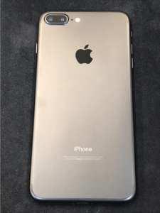 買取りしたiPhone7Plusの背面