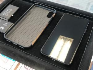 iPhoneXをガラスコーティング