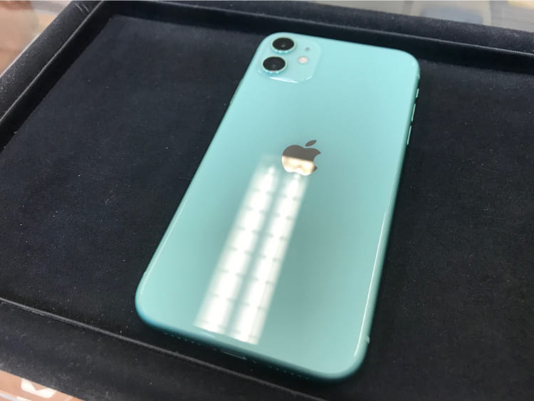 iPhone11ガラスコーティング
