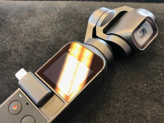 DJI Osmo Pocketをガラスコーティング