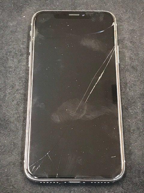 iPhoneXの画面割れを買取
