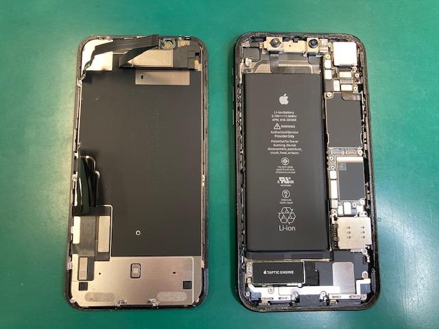 アイフォンXR画面修理交換
