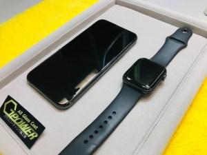 iPhone11Proとアップルウォッチ6をガラスコーティング
