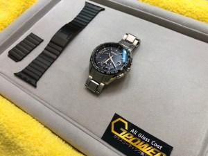腕時計をガラスコーティング