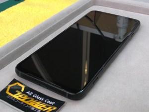 XiaomiのBlack Shark3をガラスコーティング