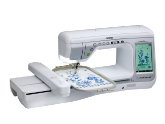DreamCreator XE VM5100-Angles with Embroidery Arm
