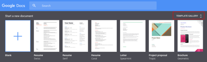 Newco Shift | Google Drive's Public Templates Are Going Away — So