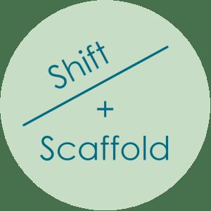 Shift and Scaffold logo