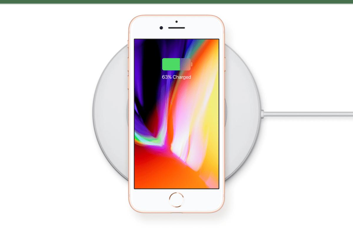 iphone kablosuz şarj