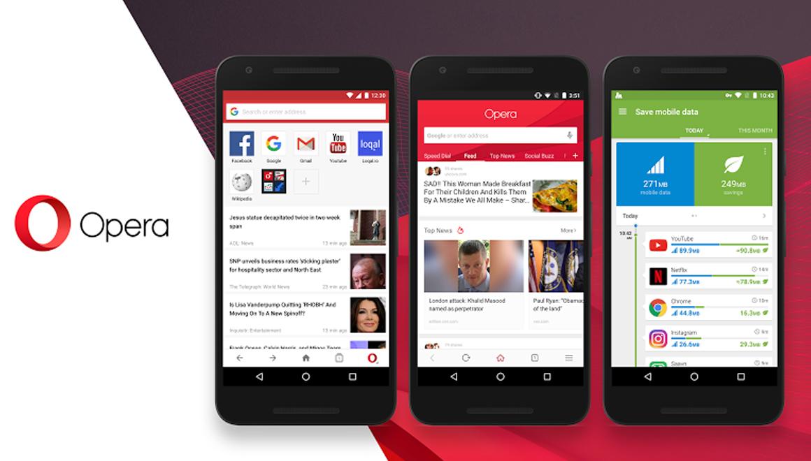 Opera için Android