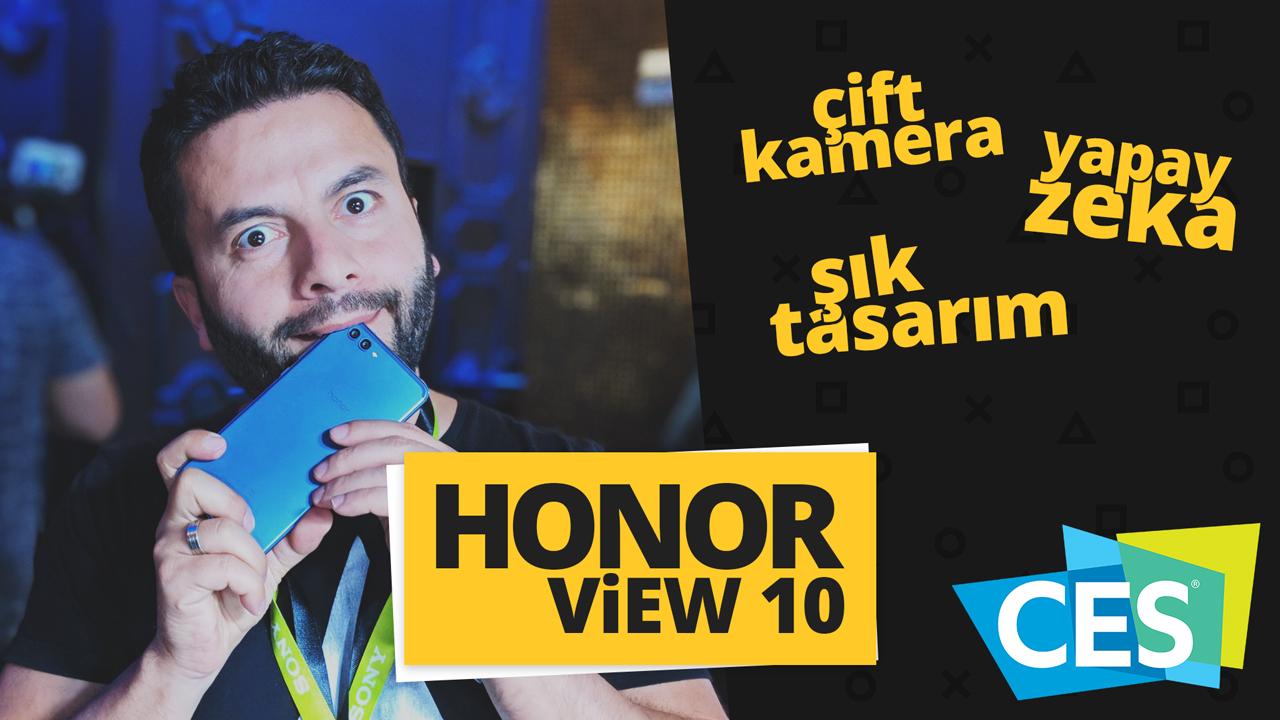 honor view 10 ön inceleme