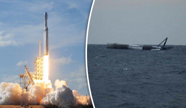 SpaceX Falcon Heavy, 3. Rokete ne oldu?