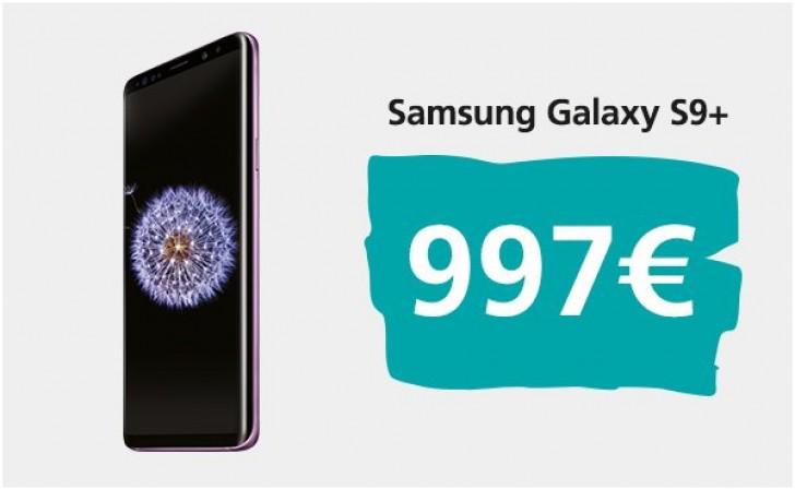 Galaxy S9 Plus fiyatı