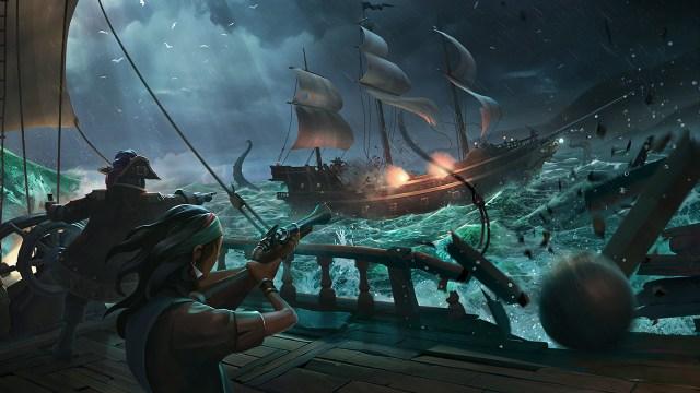 sea of thieves oyunu