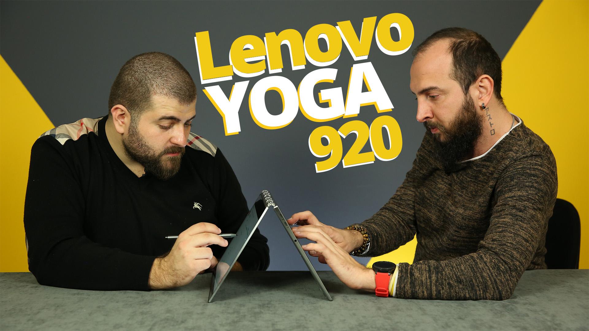 lenovo yoga 920 inceleme