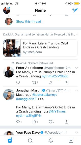 Twitter haberler