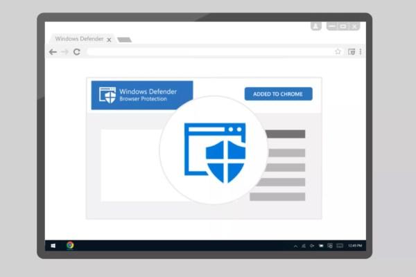 Windows Defender tarayıcı koruması