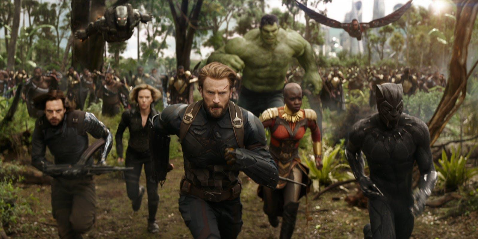 Avengers Infinity War, Yenilmezler Sonsuzluk Savaşı