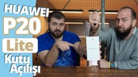 Huawei P20 Lite kutu açılış videosu!