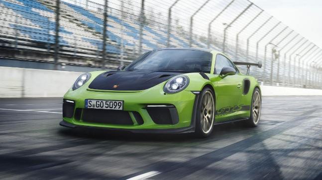 Porsche 911 GT3 RS rekor sdn