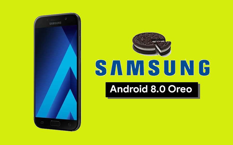 Galaxy A5 2017, Android 8.0 Oreo