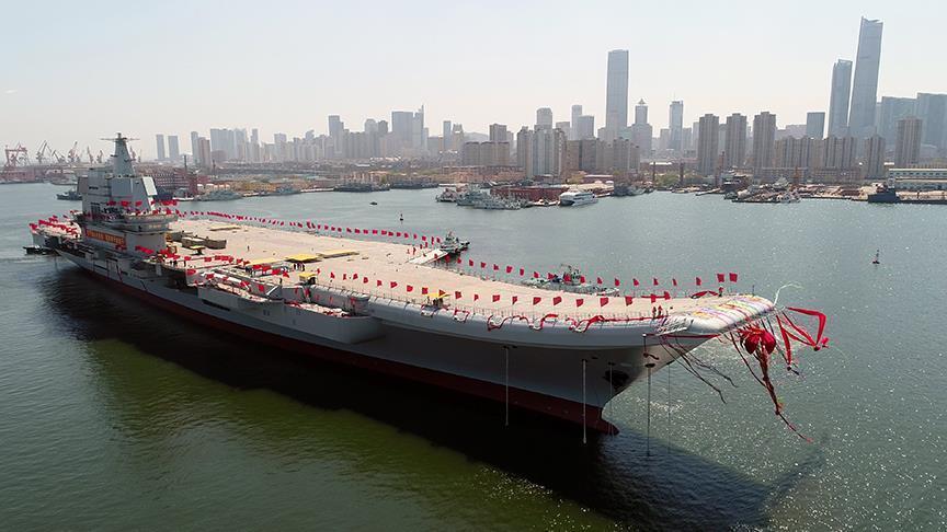 Çin uçak gemisi testlerine başladı!