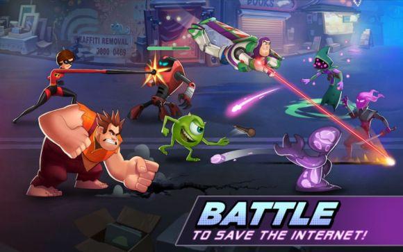Disney Heroes Battle Mode