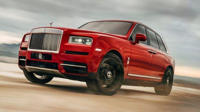 En lüks SUV: Rolls-Royce Cullinan!