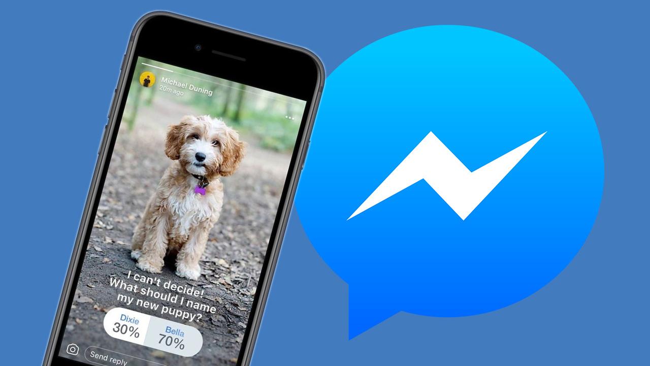 Facebook Messenger Hikayeler