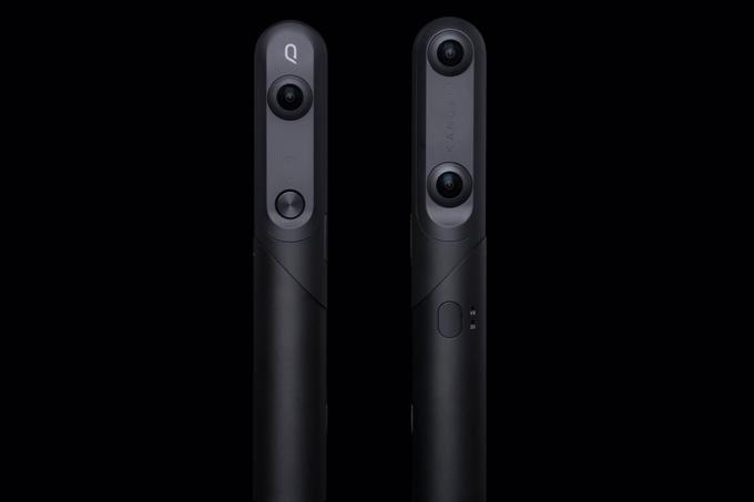 360 derece çekim yapabilen kamera