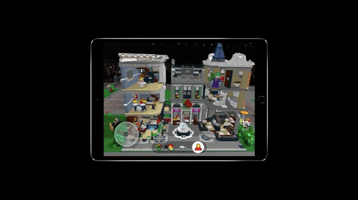 Lego ARkit sunumu