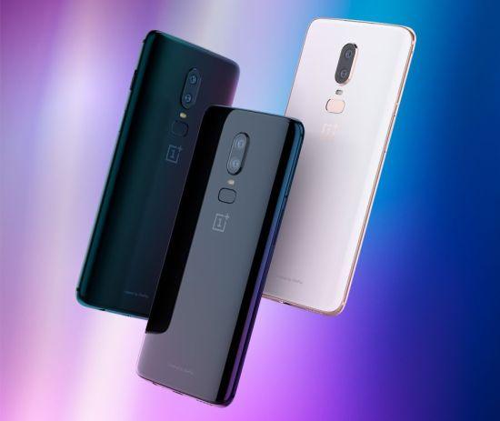 OnePlus 6 yeni renk seçeneği