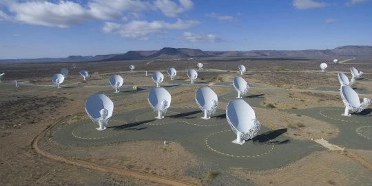 Güney Afrika uzay